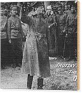 Leon Trotsky (1879-1940) Wood Print by Granger