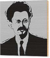 Trotsky Wood Print