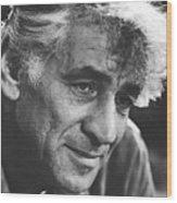 Leonard Bernstein 1970 Wood Print