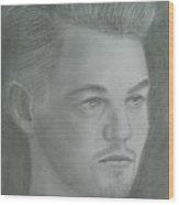 Leonardo Di Caprio Wood Print