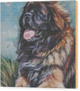 Leonberger Art Print Wood Print