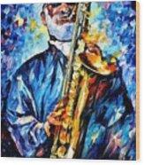 Leonid Afremov 167 Leonid Afremov Wood Print