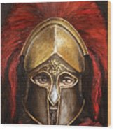 Leonidas Wood Print