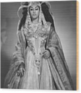 Leontyne Price B. 1927, As Cleopatra Wood Print