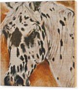 Leopard Appy Wood Print