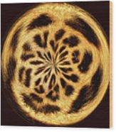 Leopard Skin Wood Print