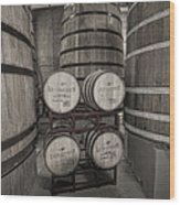 Leopold Bros Barrels Wood Print