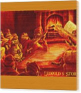 Leopold's Storytime Wood Print