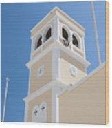 Lerapetra Church Steeple Wood Print