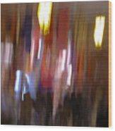 Les Couleurs Du Souk I Wood Print by Artecco Fine Art Photography