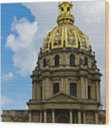 Les Invalides Wood Print
