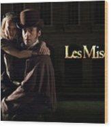 Les Miserables Wood Print