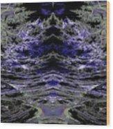 Les Ombres De La Nuit Wood Print