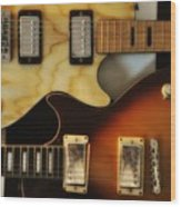 Les Paul - Come Together Wood Print