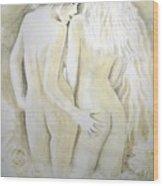 Lesbians Wood Print