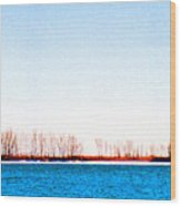Leslie Spit From Cherry Beach 33 Dbae Wood Print