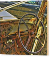 Let Drive Wood Print