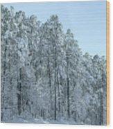 Let It Snow 3 Wood Print