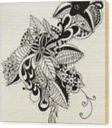 Let Your Pen Flow Wood Print