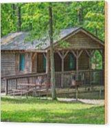 Letchworth State Park Cabin Wood Print