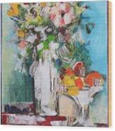 Letter Bouquet Wood Print