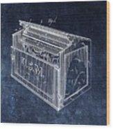 Letter Box Patent Wood Print