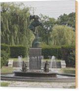 Levi L. Barbour Memorial Fountain Wood Print