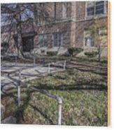 Lew Wallace High School April 2015 016 Wood Print