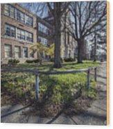 Lew Wallace High School April 2015 017 Wood Print