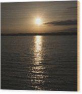 Lewis And Clark Lake Wood Print