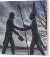 Lewis And Clark Wood Print