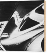 Lexus Bw Abstract Wood Print