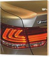 Lexus Ls 460 F Sport Tail Light Wood Print