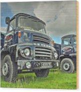 Leyland Comet Wood Print