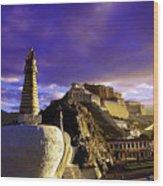 Lhasa Wood Print