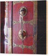 Lhasa Temple Door Wood Print
