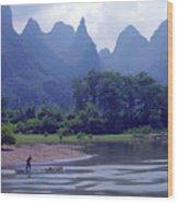 Li River - 196 Wood Print