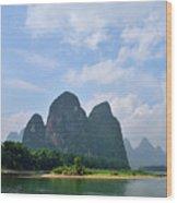 Li River Wood Print