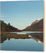 Liathach Sunrise Reflections Wood Print