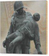 Liberation Monument Wood Print