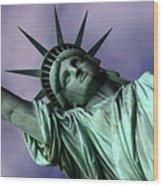 Liberty 2 Wood Print