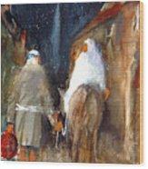 Liberty - Arriving In Bethlehem Wood Print