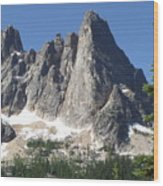 Liberty Bell Mountain Wood Print