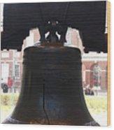 Liberty Bell  Usa Wood Print