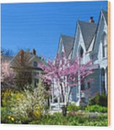 Liberty Carpenter Gothic Wood Print