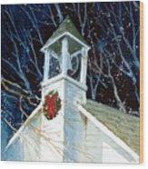 Liberty Christmas Wood Print