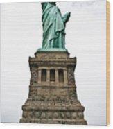Liberty Enlightening The World Wood Print