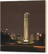 Liberty Memorial Kansas City Wood Print
