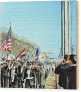 Liberty Memorial Kc Veterans Day 2001 Wood Print