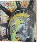 Liberty Wood Print by Robert Wolverton Jr